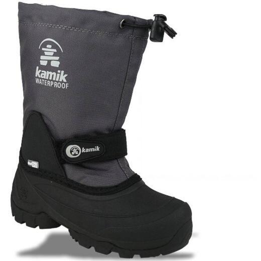 Kamik WATERBUG 5X Stiefel komplett wasserdicht OutDry bis -40°C Gr.25-40 grau 25