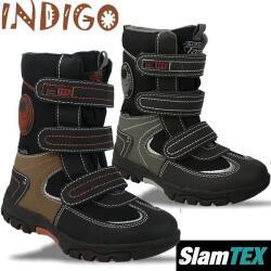 Indigo Kinderstiefel mit SlamTex - gefüttert - 2...