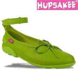 Hupsakee Ballerina mit Fesselriemchen, kiwi-grün,...