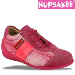 Hupsakee Leder Sneaker Schnürschuhe, Gr. 22-24