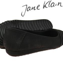 Jane Klain Ballerina elegant schwarz NEU Gr. 37-42