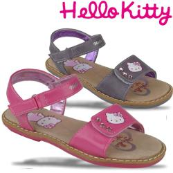 Hello Kitty Fadyall Sandale mit Lederfutter in pink oder...