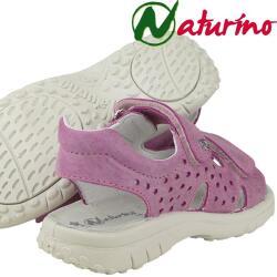 Naturino 5595 sportliche Sandale weiches Leder Fuxia...