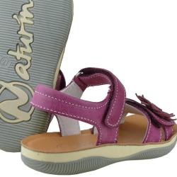 Naturino 5623 zauberhafte Sandale weiches Leder Fuxia...