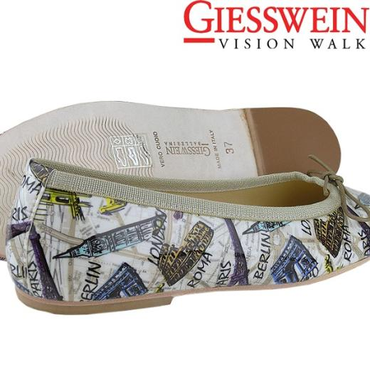 Giesswein BELLEVUE Leder Ballerina .....Paris London Berlin New York Gr.35-42