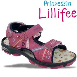 Prinzessin Lillifee Blinksandale IDA Blinki mit Herzchen...