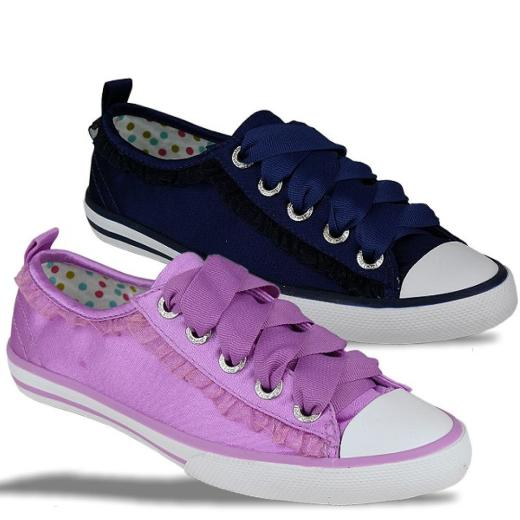 Primigi Girls Sneaker Turnschuh Fashion Satin 2 Farben Gr.28-39
