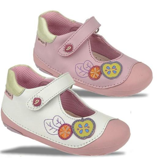 GARVALIN Prewalker Lauflern-Schuh Leder Fußbett Gr.18-22