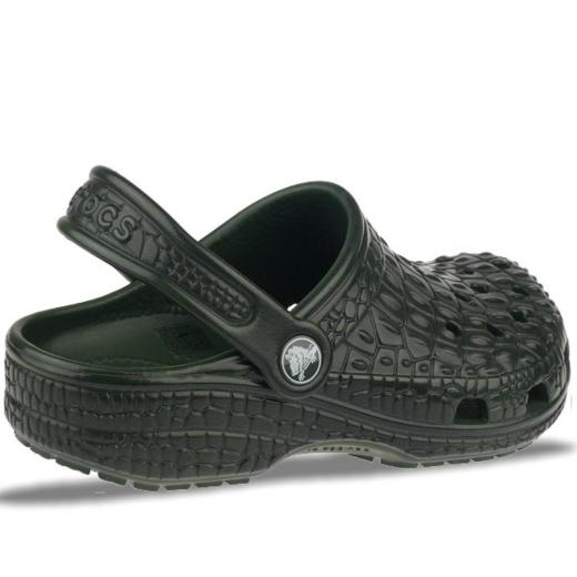 official photos 087b0 e11c0 CROCS Crocskin Classic Kids Forest/Black - limitierte Auflage NEU Gr.23-35