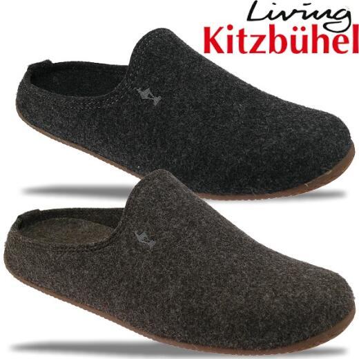 Living Kitzbühel Hausschuh 2070 Pantoffel schmale Form in 2 Farben Gr.40 48