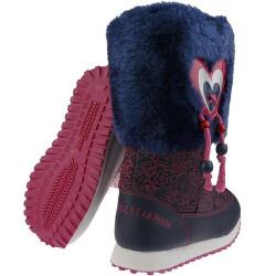 Agatha Ruiz de la Prada Schneeboots Stiefel Mod.121968 weiß o.blau Gr.24-35 blautöne 30