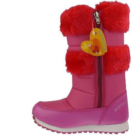 Agatha Ruiz de la Prada Schneeboots Stiefel Mod.121969 pink