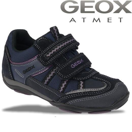 GEOX J Better Sneaker Halbschuhe Mädchen Dunkelblau Gr. 33