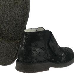 Primigi GROUNGY super weicher Schuh Crashleder schwarz...