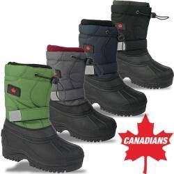 INDIGO Canadians Winterstiefel wasserdicht Gummizug vier...