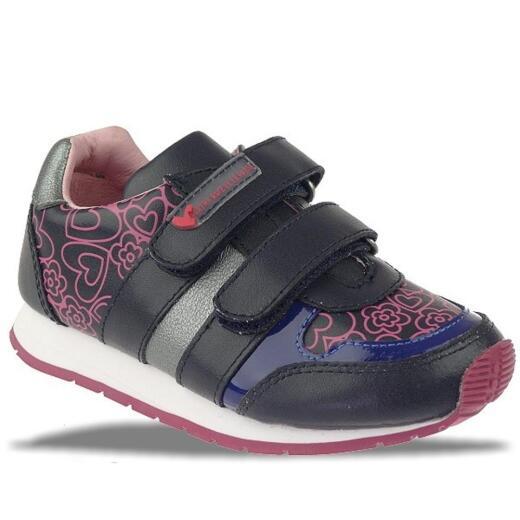 Agatha Ruiz de la Prada Mod.121973 Sneaker Halbschuh pink o.blau Gr.24-35 blautöne EUR 25