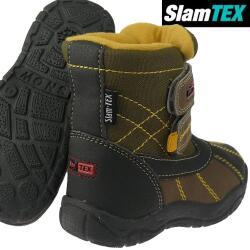 INDIGO kuschelige gefütterte Stiefel mit Slam-Tex...