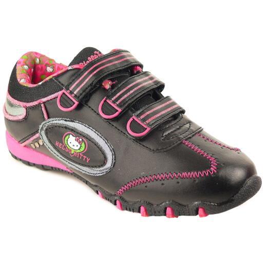 Coole Halbschuhe für alle HELLO KITTY - Fans  black/pink Gr. 28-39