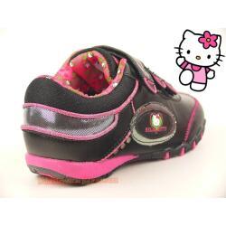 Coole Halbschuhe für alle HELLO KITTY - Fans  black/pink Gr. 28-39 39