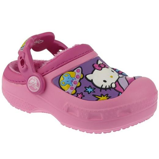 CROCS Hello Kitty Space Adventure kuschelig in 2 Farben Gr.23-35