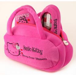 Set Hausschuhe+Tasche für alle HELLO KITTY-Fans pink...