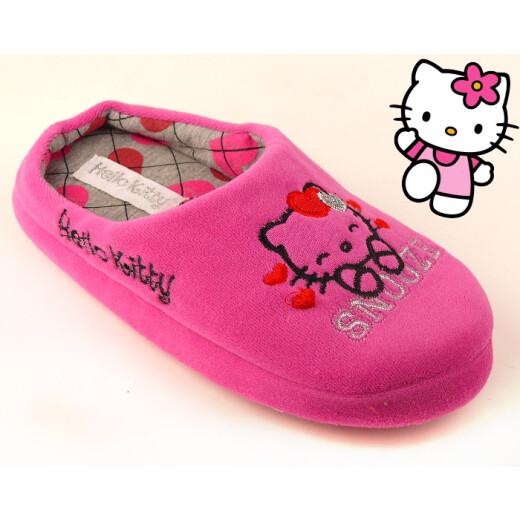 Set Hausschuhe+Tasche für alle HELLO KITTY-Fans pink Gr. 28-35 28