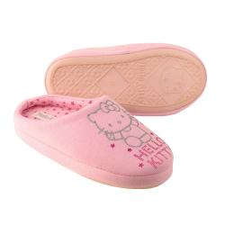 süße Hausschuhe für alle HELLO KITTY - Fans rosa Gr. 28-41