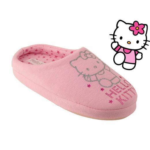 süße Hausschuhe für alle HELLO KITTY - Fans rosa Gr. 28-41 33