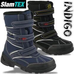 INDIGO gefütterter Kinderstiefel Slam-Tex mit...