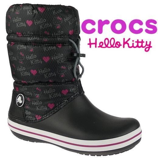 Crocs Crocband(TM) Winter Boot Hello Kitty Winterstiefel Gr. 36 42