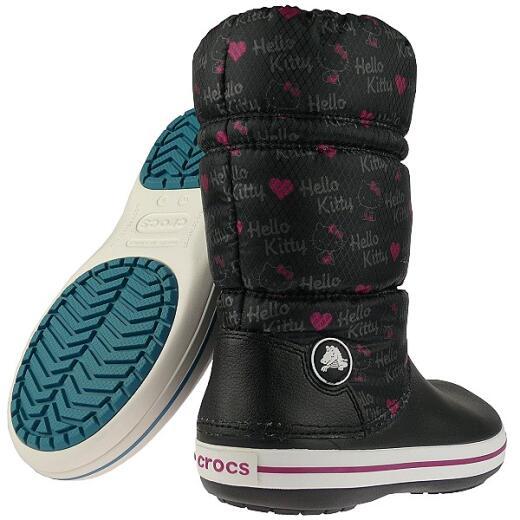 Boot Gr36 Kitty Crocs Winterstiefel tmWinter Hello 42 Crocband KJ1lFcT3