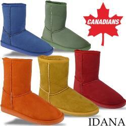 INDIGO kuschelige Boots CANADIANS in 5 tollen Farben...