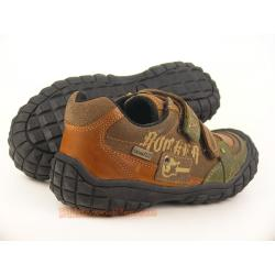 INDIGO gefütterter Lederschuh Boots mit Slam-Tex Gr. 28-41 34