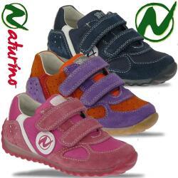 Naturino ISAO Leder Halbschuh Leder Sneaker weich 3...