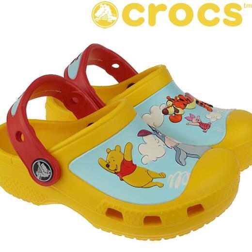 crocs winnie the pooh und seine 3 freunde clogs gelb neu eur. Black Bedroom Furniture Sets. Home Design Ideas