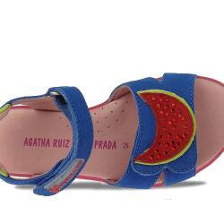 Agatha Ruiz de la Prada zauberhafte Leder Sandale Mod.132966 Gr.24-32 EUR 27