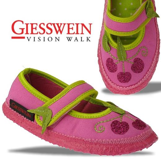 Giesswein KAPRUN Hausschuh Hüttenschuh zauberhaft in pink Gr.23-35