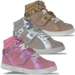 Primigi BASKET crazy Boots in coolen Metallicfarben Gr.24-39