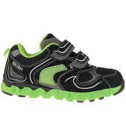 Primigi BOY FREE crazy Halbschuh Sneaker mit neonfarbener...