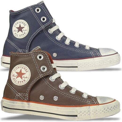 CONVERSE AS High Easy Slip Chucks Leder Vintage Look Gr.30 38,5