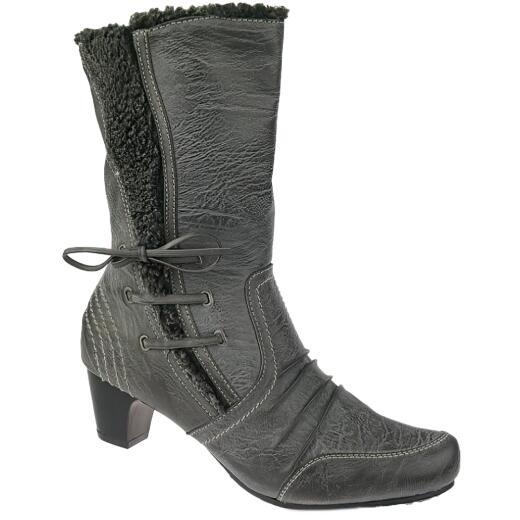 ZARINA Fashion by IDANA City Stiefel leichtes Futter schwarz Gr.37 42