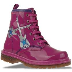 Agatha Ruiz de la Prada Lederboots Stiefel Mod.131971 in Pink Gr. 24-32 EUR 25