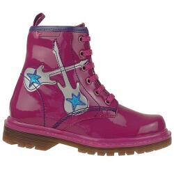 Agatha Ruiz de la Prada Lederboots Stiefel Mod.131971 in Pink Gr. 24-32 EUR 29