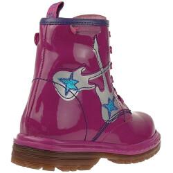 Agatha Ruiz de la Prada Lederboots Stiefel Mod.131971 in Pink Gr. 24-32 EUR 31