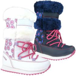 Agatha Ruiz de la Prada Schnee Boots Stiefel Mod.131995 weiß o.blau Gr.24-35 Blau EUR 30