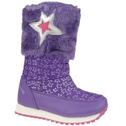 Agatha Ruiz de la Prada Schneeboots Stiefel Mod.131996 pink oder lila Gr.24-35 Lila EUR 25