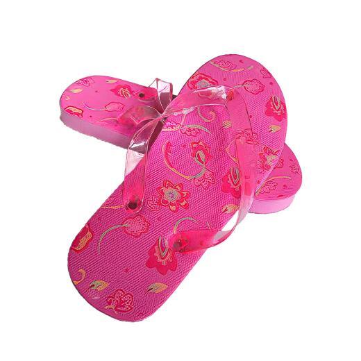 Badelatschen Zehentrenner pink Gr. 31-38