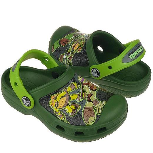 CROCS Teenage Mutant Ninja Turtles mit Leuchtmotiv NEU Gr.23-31