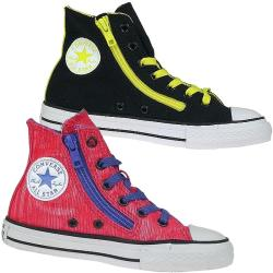 CONVERSE AS High neon-glitzerpink 642788C und black...