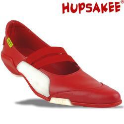 Hupsakee Ballerina, rot, spitze Form, Gr. 35-40